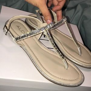 Aldo Diamond Studded Sandals